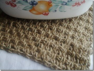 Crochet Twine : Oh my goodness.... crocheting twine/hemp. Never thought about this ...
