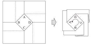 地図 折る - Google 検索 | WW_BUNKA ... : 折り紙 箱 折り方 : 折り方