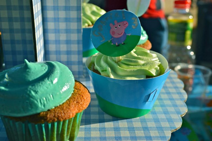 Peppa Pig's Birthday Party theme | My Sweet Pastry Shop Party Treats ...