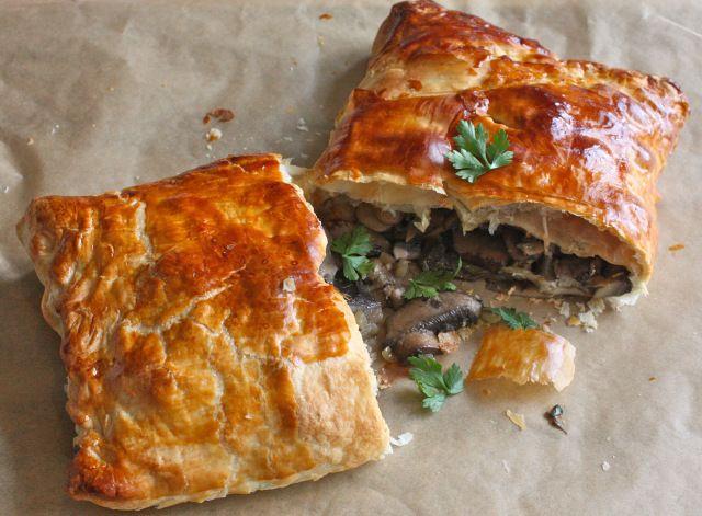 Devilled Mushroom Wellington web | Vegetarian Comfort Food | Pinterest