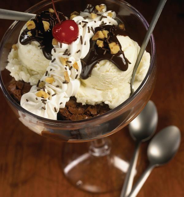 brownie sundae | I Scream for Ice Cream | Pinterest
