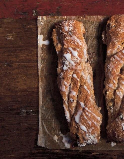 Cinnamon-Raisin Bread Twists | Gluten free recipes | Pinterest