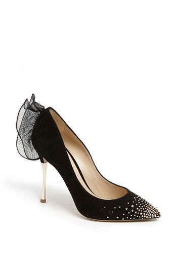 Nicholas Kirkwood Ruffle Trim Pump available at #Nordstrom