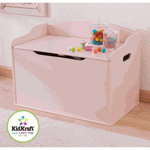 Toy Storage Bench Pink By Kidkraft Organization Pinterest
