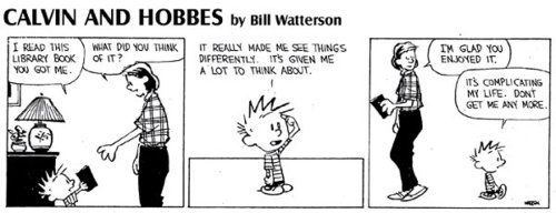 Funny Calvin and Hobbes