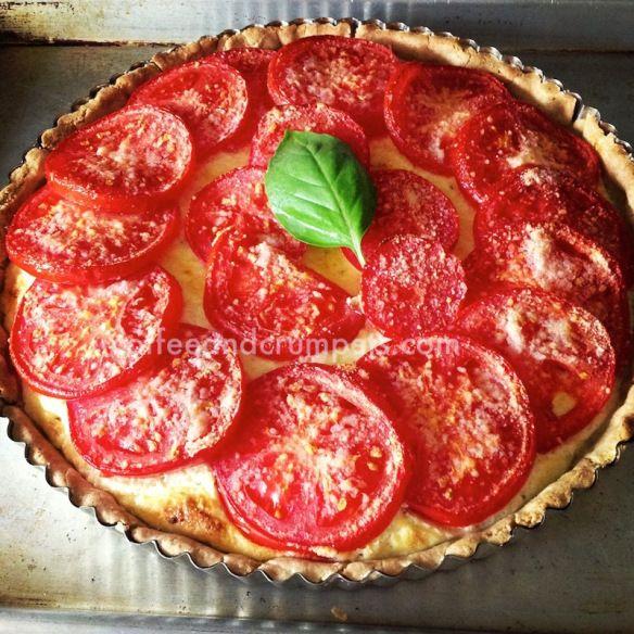 Gluten Free Tomato and Herb Cheese Tart   Gluten Free   Pinterest