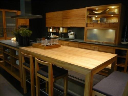 Kitchen Table Attached To Island Kitchen Pinterest
