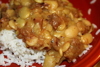 Stewed Baby Lima Beans | Recipe