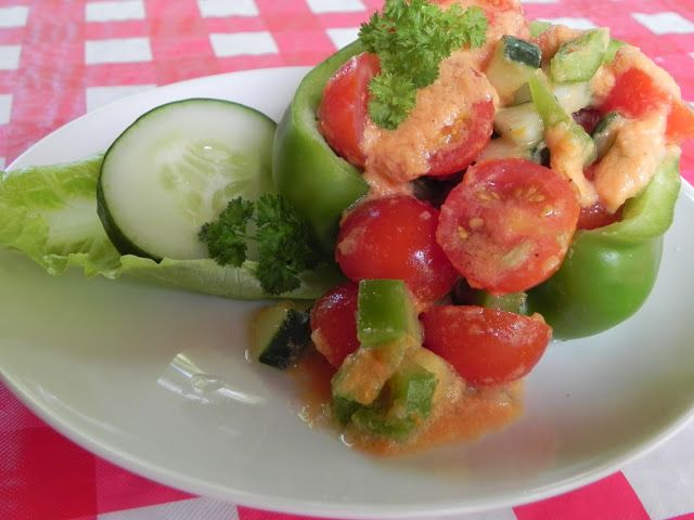 Gazpacho Salad | Food | Pinterest
