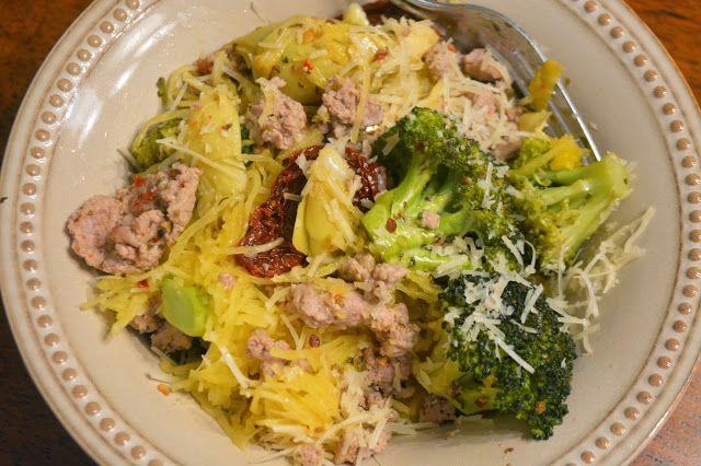Paleo Pasta Primavera with Ground Turkey #diet #paleo #recipes #turkey ...