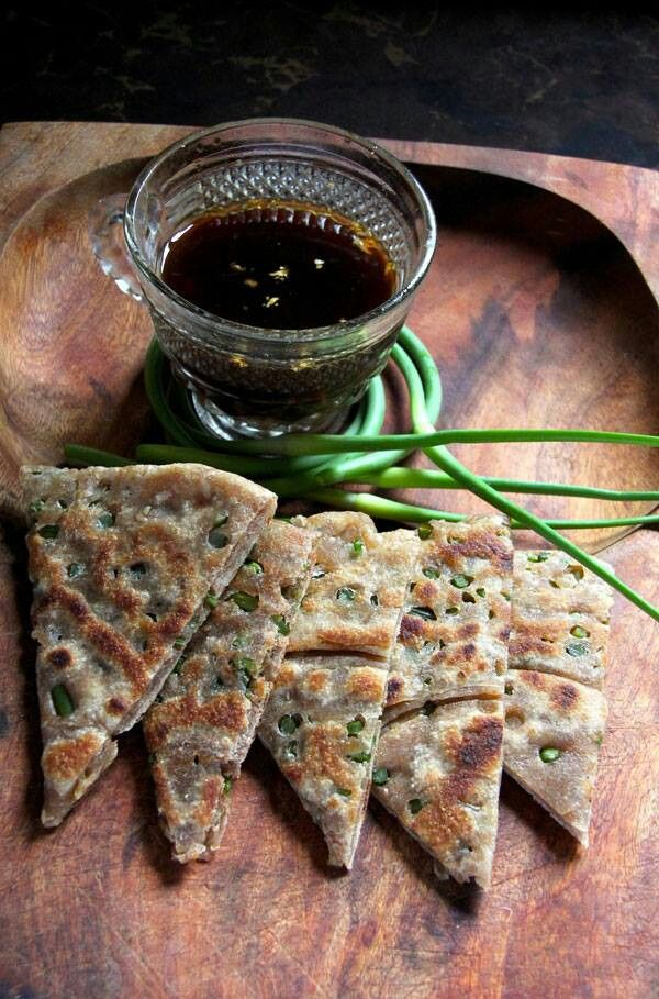 Garlic scape savory pancakes | Recipes to try | Pinterest