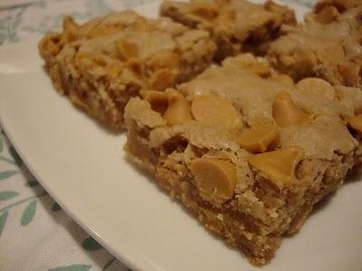 Butterscotch Blondies | recepies | Pinterest