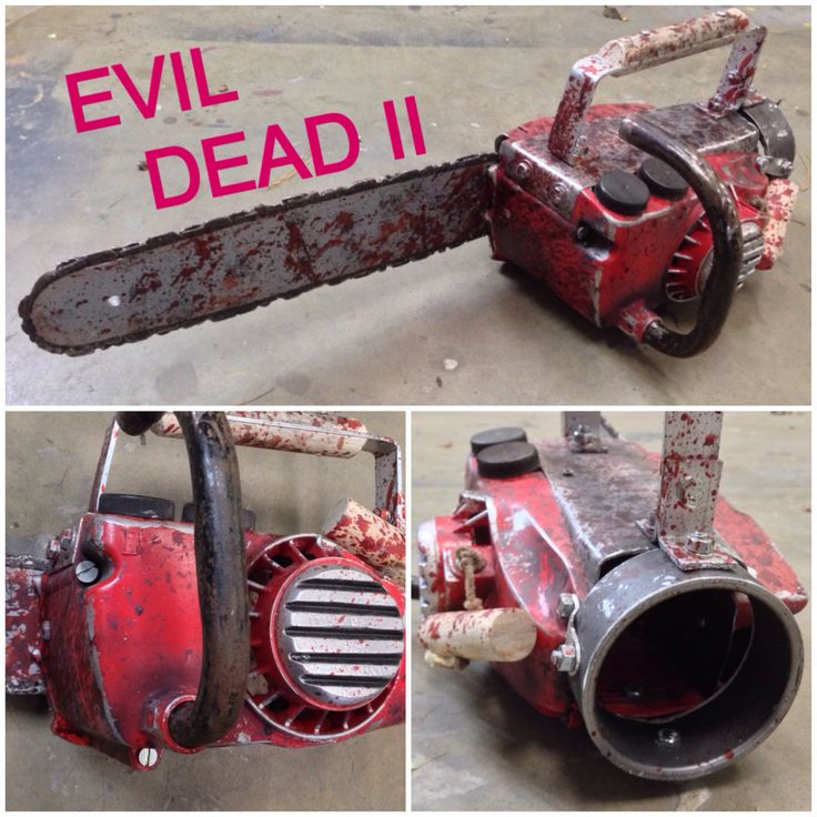My Evil Dead 2 chainsaw replica. Now on eBay and Etsy.com https://www ...