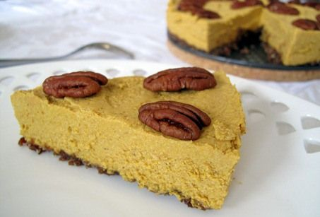 no bake pumpkin mousse pie | healthy food! | Pinterest