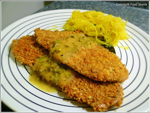 Whole Wheat Panko-Coated Pork Scalopine