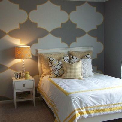 wallpaper accent wall bedroom ideas pinterest