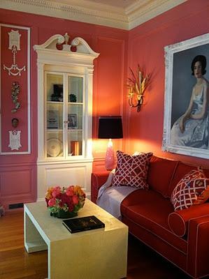 LOVE pink.Mrs. Doheny's Bedroom.