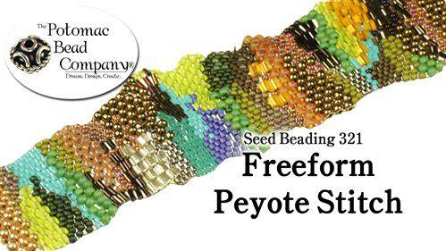 free brick stitch seed bead patterns, circular brick