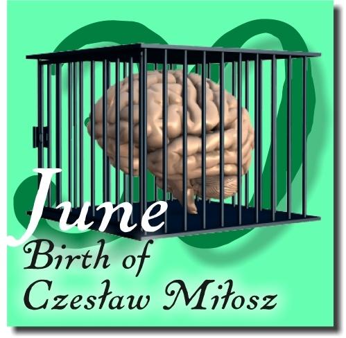 Czesław Miłosz, 30 June | LibraryThing rebuses | Pinterest