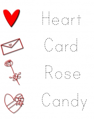 valentine letter writing template