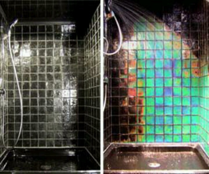 Heat sensitive color changing tiles wth stuff i want Temperature sensitive glass