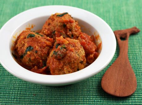 curried turkey meatballs | Recipes | Pinterest