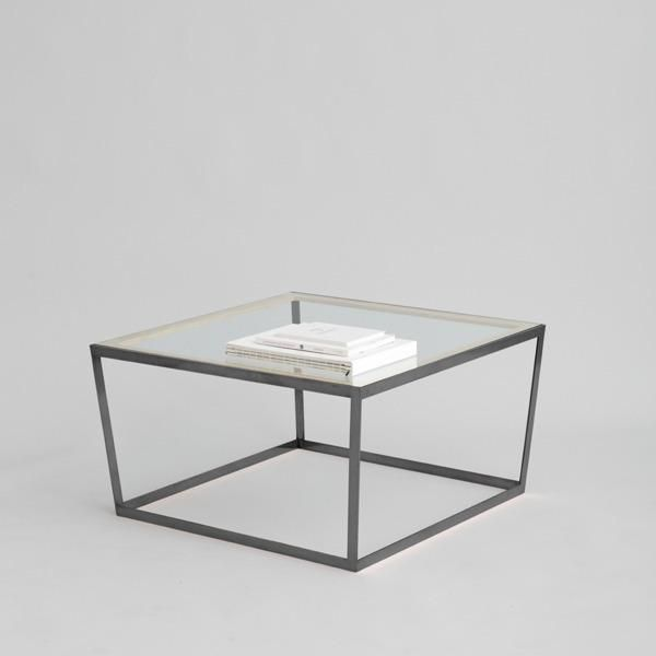 Frame Coffee Table Black Clear Glass Iacoli McAllister Domino