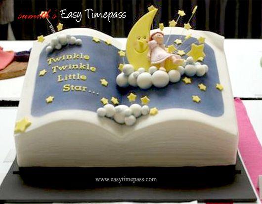 Twinkle Twinkle Little Star Cake Fondant Cake Ideas ...