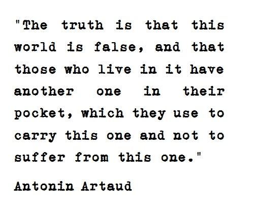 antonin artaud theatre of cruelty essay During the early 1930s, the french dramatist and actor antonin artaud put forth a theory for a surrealist theatre called the theatre of cruelty.