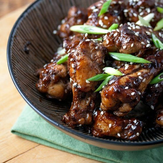 ... menu with these sticky-salty-sweet Coca-Cola Chicken Wings instead