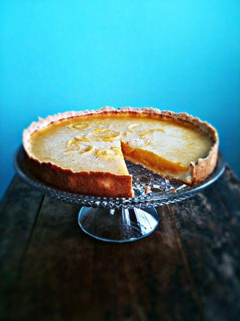 sweetsugarbean: Meyer Lemon Honey Tart with Salted Shortbread Crust ...