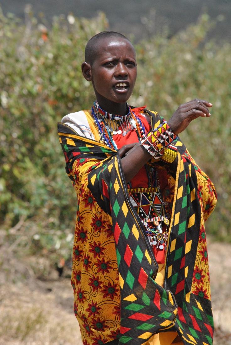 Africa - At a Masai Village