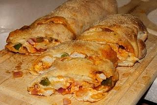 Buffalo Chicken Stromboli | Appetizers/Snacks | Pinterest