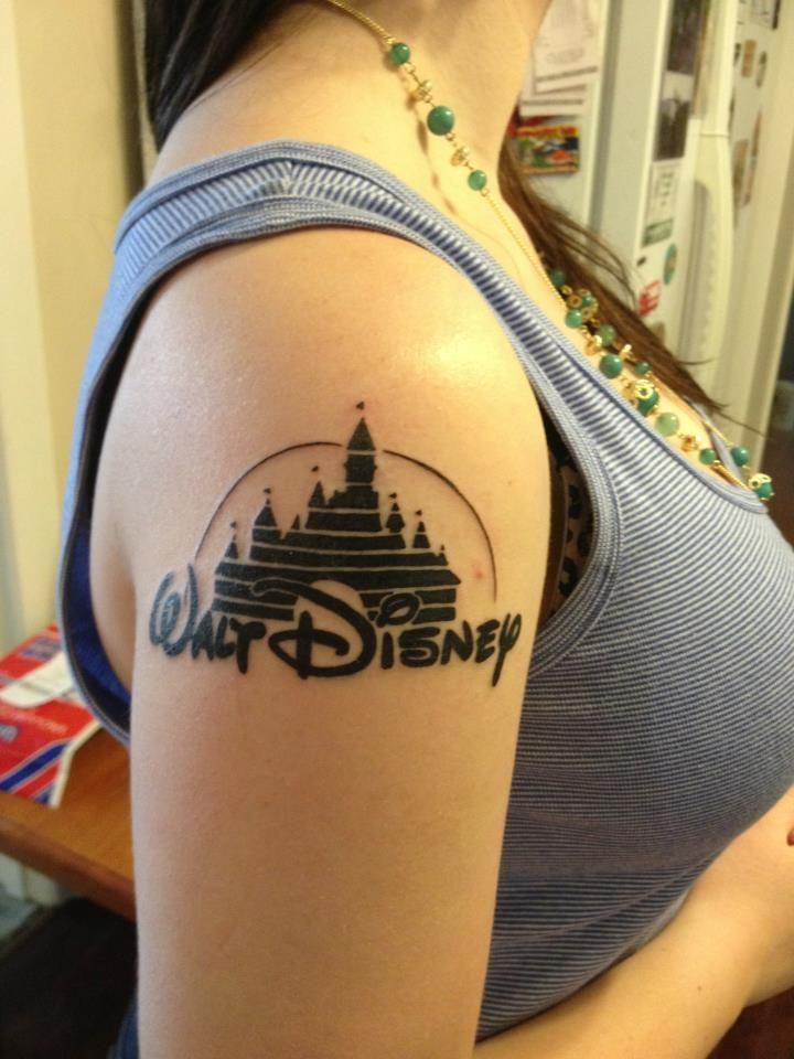 Walt disney tattoo tattoo pinterest for Disney world tattoos