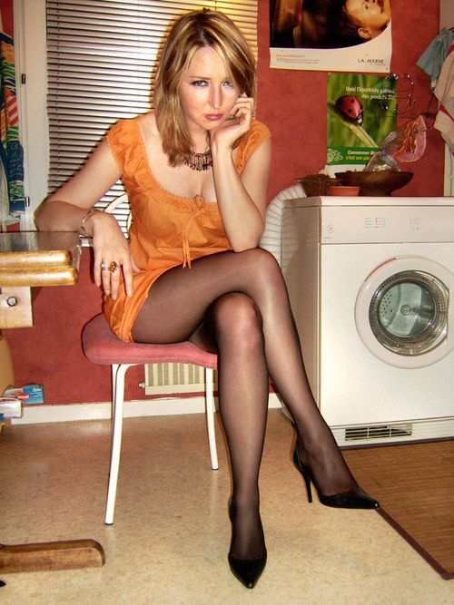 Player Mature Pantyhose Model Doing 35