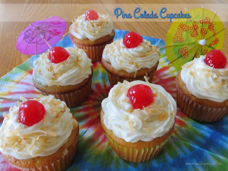 Pina Colada Cupcakes | Food! | Pinterest
