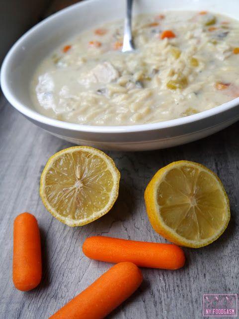 Greek Lemon Chicken Soup | Food and Drinks | Pinterest