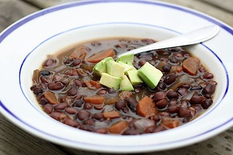 Crock-Pot Black Bean Soup from an awesome blog called Eating Bird Food ...