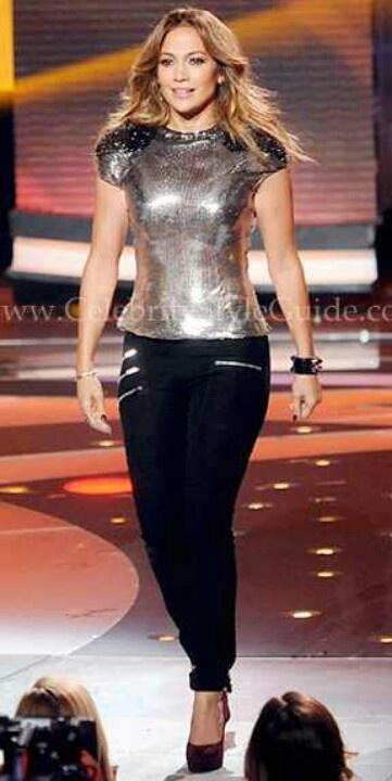 Jennifer Lopez Casual Style