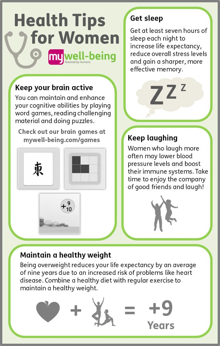 Health Tips for...