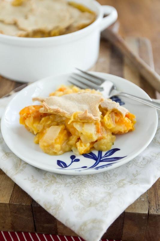 Butternut Squash and Lentil Pot Pie | Recipe