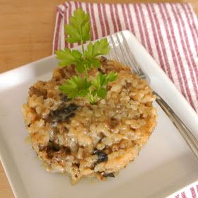 Mom, What's For Dinner?: Italian Sausage and Mushroom Risotto