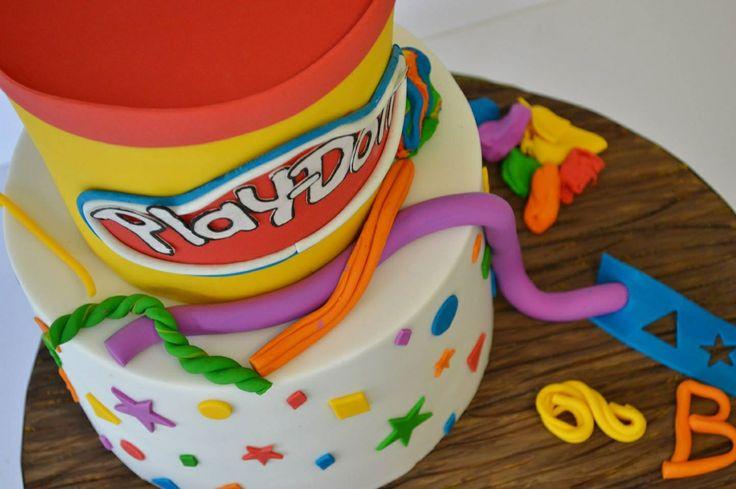 Play dough cake! Cakes Pinterest