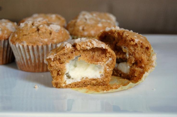 Pumpkin Cream Cheese Muffins   Desserts   Pinterest