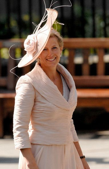 The Countess of Wessex at Zara Phillip's wedding on 30 July 2011