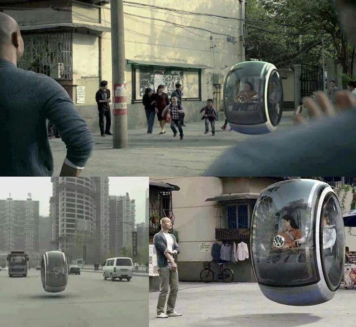 volkswagen concept hover car cars pinterest