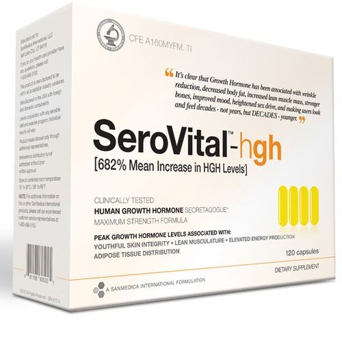 SeroVital-HGH Save 20% with coupon code: SAVE NOW $99.00 #DrLinDirect ...