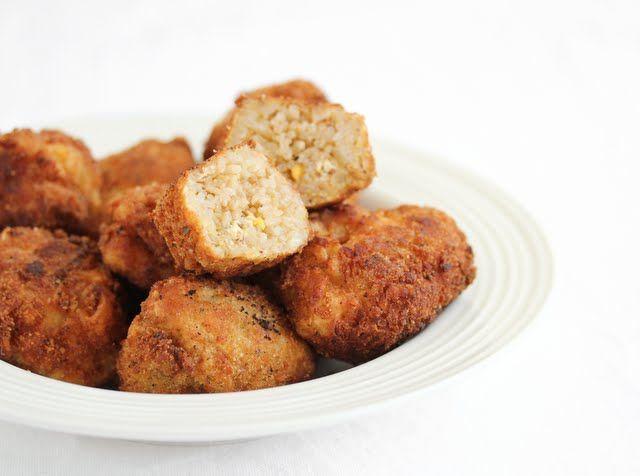 Double Fried Rice Balls | Favorite Recipes | Pinterest