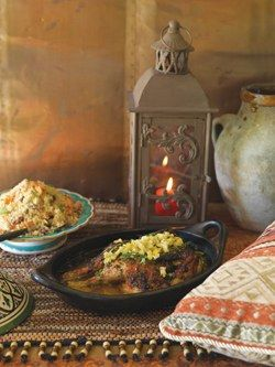 Moroccan-style Roast Chicken | Recipes | Pinterest
