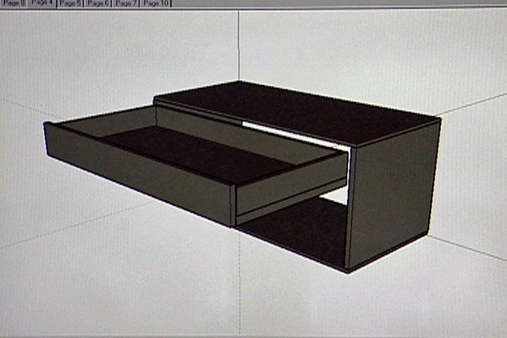 diy pull out shelf for pots and pans diy pinterest. Black Bedroom Furniture Sets. Home Design Ideas